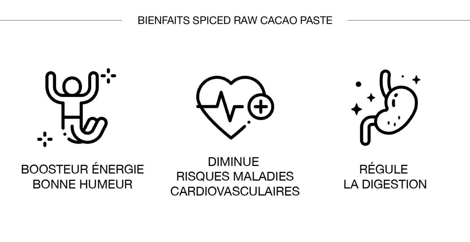 Spiced Raw Cacao bienfaits