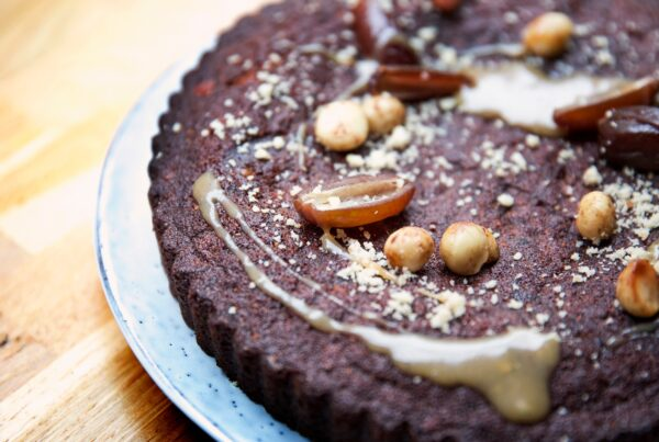 Gâteau chocolat aux noix de macadamia