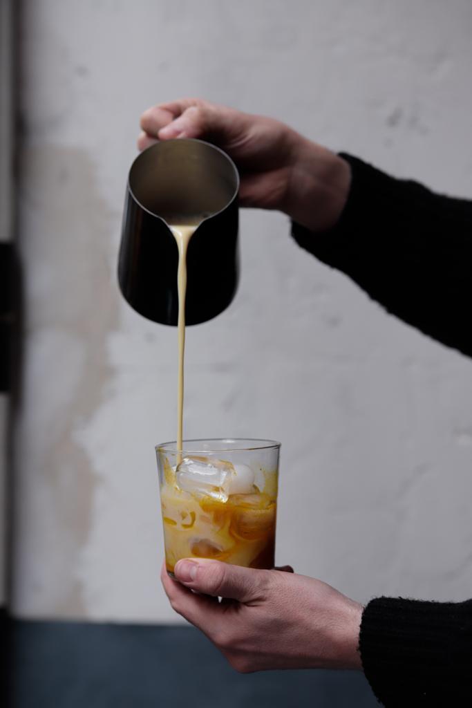 Golden Iced Latte