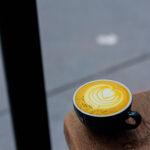 Golden Latte art