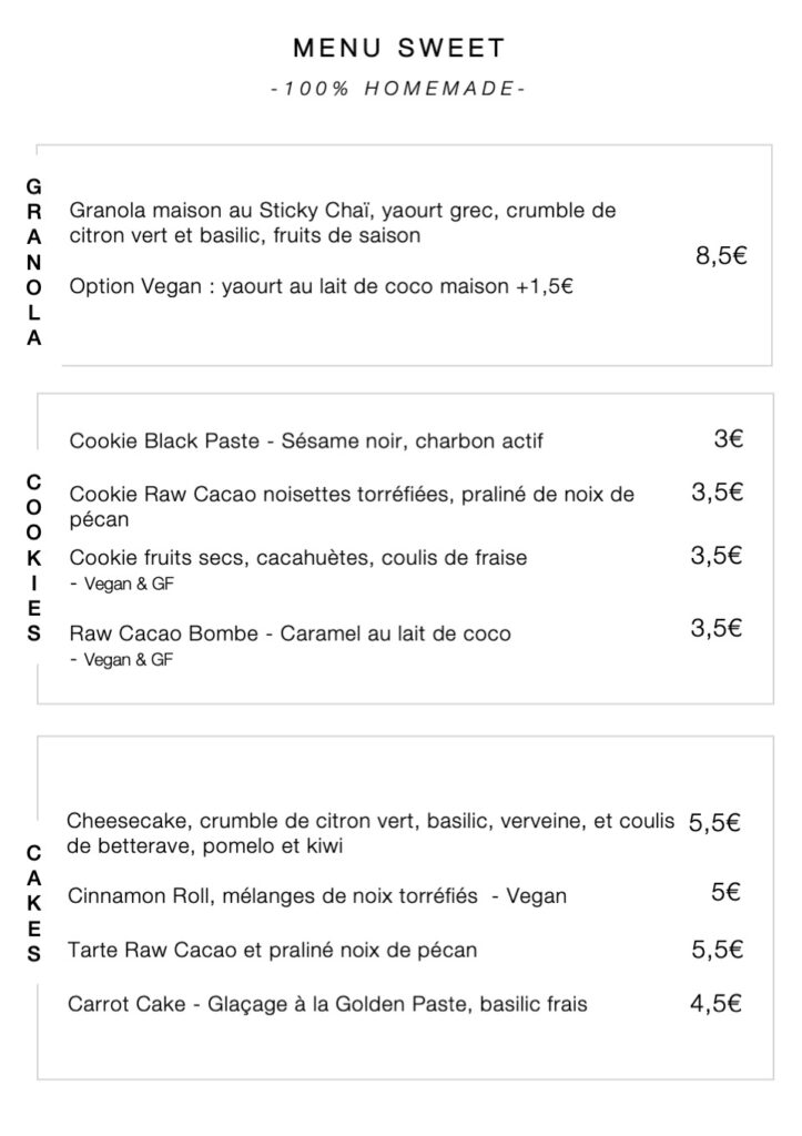 TOP Brunch Sucré Paris 18